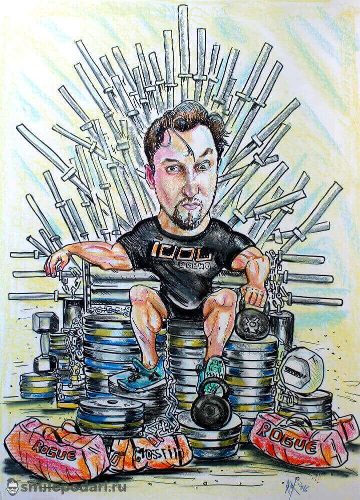 Шарж Игра престолов
